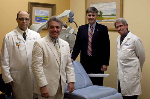 Richard Holbert, M.D.; Mark Gold, M.D.; Michael Good, M.D.; and Louis Solomon, M.D.